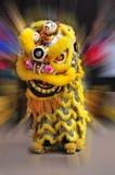 Ballo cinese del leone Immagine Stock