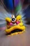 Ballo cinese del leone Fotografie Stock