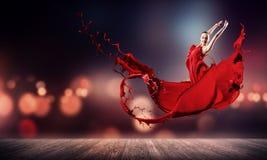 Ballo con passione fotografie stock libere da diritti
