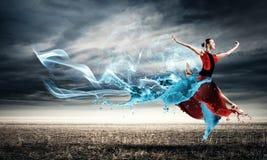 Ballo con passione fotografia stock
