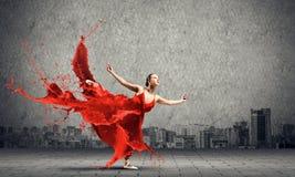 Ballo con passione fotografia stock libera da diritti