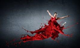 Ballo con passione immagini stock