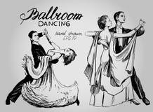 ballo da sala Immagini Stock