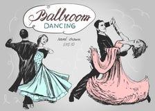 ballo da sala Fotografia Stock