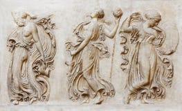 Ballo dei Maenads Fotografia Stock Libera da Diritti