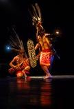 BALLO DEL BORNEO DEL DAYAK DELL'INDONESIA Fotografia Stock