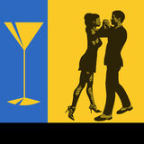 Ballo del cocktail illustrazione di stock