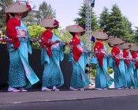 Ballo del giapponese fotografia stock libera da diritti
