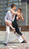Ballo del Latino Fotografia Stock