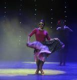 Ballo del mondo della RETRO Occhiali da sole-retro Austria esagerata di ballo- Immagine Stock