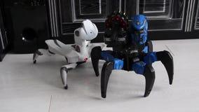 Ballo del robot video d archivio