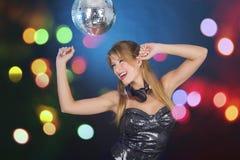 Ballo della discoteca Fotografia Stock