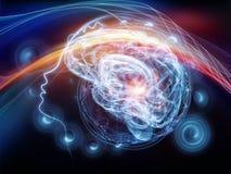 Ballo della mente Immagini Stock