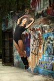 Ballo della ragazza fotografie stock libere da diritti