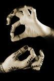 Ballo delle mani Fotografie Stock Libere da Diritti