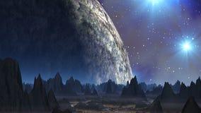 Ballo delle stelle (UFO) illustrazione vettoriale