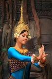 Ballo di Apsaras Immagini Stock