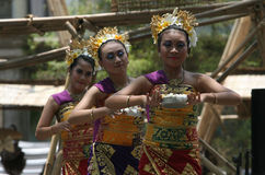 Ballo di balinese Fotografia Stock Libera da Diritti