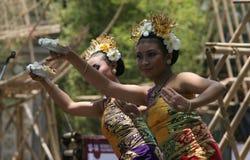 Ballo di balinese Fotografie Stock Libere da Diritti