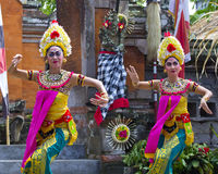 Ballo di Barong in Bali Immagini Stock Libere da Diritti
