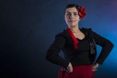 Ballo di flamenco fotografia stock