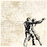 Ballo di Grunge illustrazione vettoriale