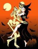 Ballo di Halloween illustrazione vettoriale