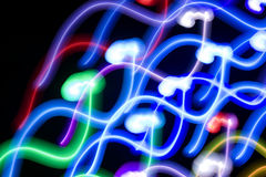 Ballo di indicatore luminoso Fotografia Stock