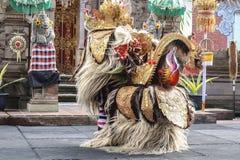 ballo di keris e del barong Fotografia Stock