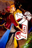 Ballo di Kuda Kepang fotografie stock