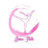 Ballo di logo Immagini Stock