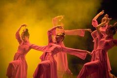 Ballo di piega cinese fotografie stock libere da diritti