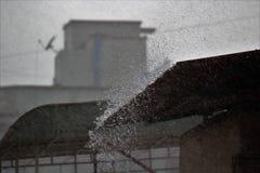 Ballo di pioggia Immagini Stock