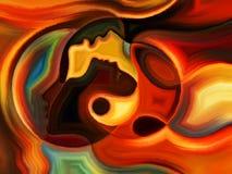 Ballo di pittura interna Fotografia Stock Libera da Diritti