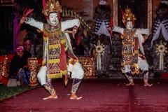 Ballo di Ramayana in Ubud, Bali, Indonesia immagine stock libera da diritti