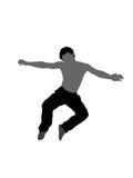 Ballo di salto illustrazione di stock