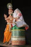 Ballo di sircar-Manipuri di Smt.savanabrata e di Sri Fotografia Stock