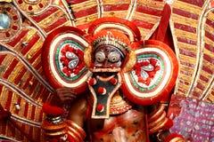 Ballo di Theyyam Immagine Stock Libera da Diritti