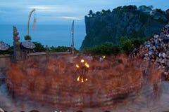 Ballo di tramonto Fotografia Stock