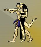 Ballo egiziano di tango royalty illustrazione gratis