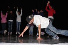 Ballo hip-hop Fotografia Stock