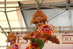 Ballo indonesiano Immagine Stock Libera da Diritti