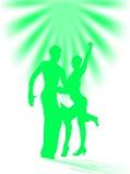 Ballo latino Immagini Stock