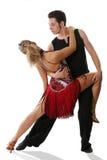 Ballo latino Fotografie Stock Libere da Diritti