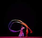 """Ballo lungo della manica - balli il  di Lanfang†di drama""""Mei Immagine Stock"""