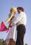 Ballo romantico Fotografie Stock