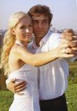 Ballo romantico Fotografia Stock