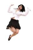 Ballo selvaggio Fotografia Stock