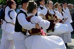 Ballo serbo 1 Fotografie Stock Libere da Diritti