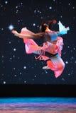 Ballo sgomberato delle salto-gente Fotografie Stock